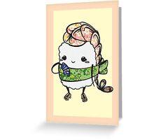 Ebi Princess Greeting Card