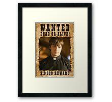Buffy Caleb Nathan Fillion Wanted 3 Framed Print