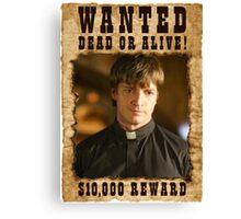 Buffy Caleb Nathan Fillion Wanted 3 Canvas Print