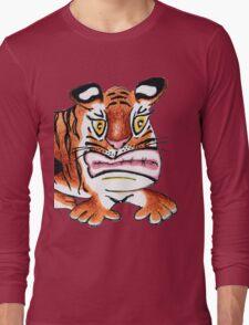 Sulking Tiger Long Sleeve T-Shirt