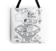 Kitchen - Life in flowers Tote Bag