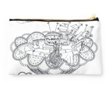 Living room - Life in flowers Studio Pouch