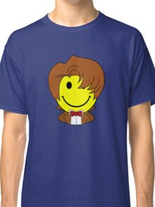 Happy Dr. Who Face Classic T-Shirt