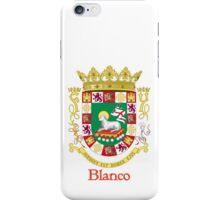 Blanco Shield of Puerto Rico iPhone Case/Skin