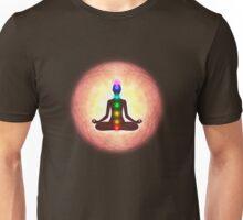 Chakra Meditation Print Unisex T-Shirt
