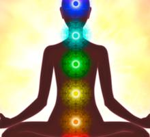 Chakra Meditation Print Sticker