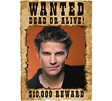 Buffy Angel David Boreanaz Wanted Photographic Print