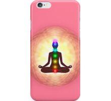 Chakra Meditation Print iPhone Case/Skin