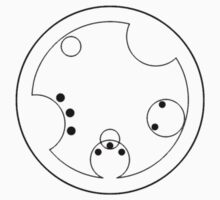"""Doctor"" in Circular Gallifreyan by julieinkc"