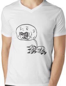 excitement Mens V-Neck T-Shirt