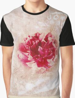 Vintage Peony Graphic T-Shirt