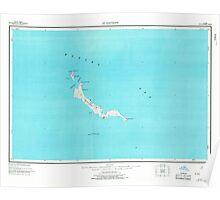 USGS TOPO Map Alaska AK St Matthew 361382 1951 250000 Poster