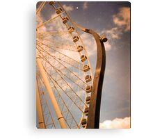 Wheel of Brisbane Canvas Print