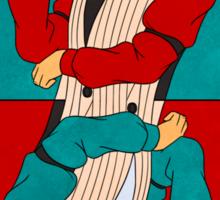 Godot: The King Of Hearts Sticker