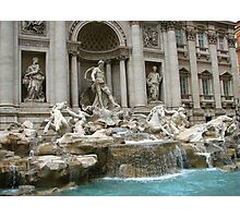 Three Coins In The Fountain Photographic Print
