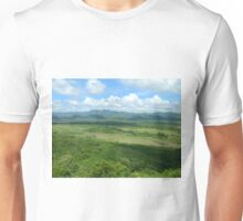 Caribbean Mountains and Sky Unisex T-Shirt