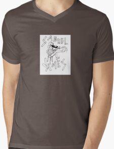 Samuel James Logo Mens V-Neck T-Shirt