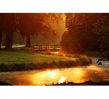 Morning light at Groeneveld Photographic Print