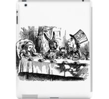 Vintage illustration Alice's Adventures in Wonderland  iPad Case/Skin