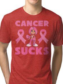 Cancer Sucks Tri-blend T-Shirt