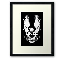 HALO - United Nations Space Command  Framed Print