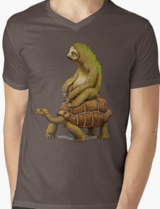 speed is relative Mens V-Neck T-Shirt