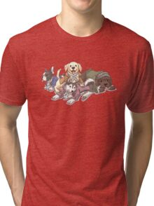 Hamilton Musical x Broadway Dogs Tri-blend T-Shirt