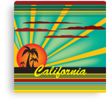 Welcome to California Canvas Print