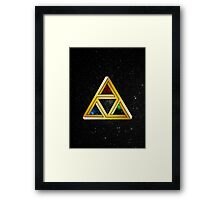 The Tri[llusion] Force Framed Print