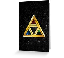 The Tri[llusion] Force Greeting Card