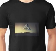 3D Floating Polyscape Unisex T-Shirt