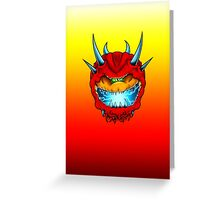 Cacodemon Greeting Card