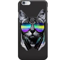 Music Lover Cat V.II iPhone Case/Skin