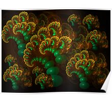 Bubbling Corals Poster