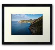 Monterosso and the Cinque Terre Coast Framed Print