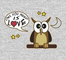 Owl you need is love! by Maria  Gonzalez