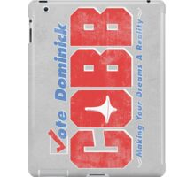 Vote Cobb iPad Case/Skin