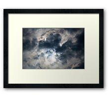 Sun orb Framed Print