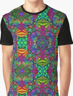 Psychedelic Abstract colourful work 69 Graphic T-Shirt