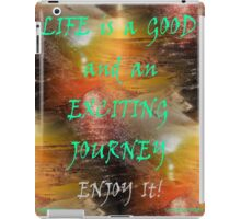 CHOOSE YOUR FRIENDS WISELY iPad Case/Skin