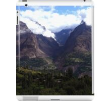 Hunza Valley iPad Case/Skin