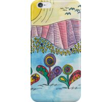 Paisley Daisy Sunrise iPhone Case/Skin