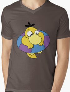 Floating Psyduck  Mens V-Neck T-Shirt