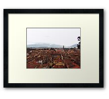 Lucca, Italy  Framed Print