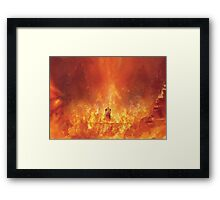 Nibelheim Hell (60 left!) Framed Print