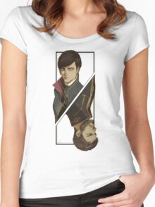 Games :: Dishonored 2 :: Art Women's Fitted Scoop T-Shirt
