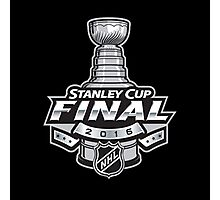 NHL stanley Cup 2016 Final Logo Photographic Print