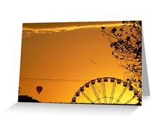 Melbourne sunrise Greeting Card
