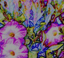Flower Garden Dreams Sticker