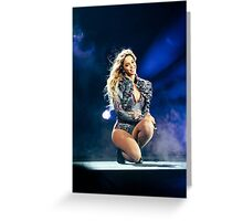 1+1 BEYONCE FORMATION WORLD TOUR Greeting Card